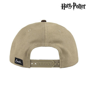 Hat with Flat Visor Harry Potter 73600 Light brown (59 Cm)