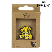 Load image into Gallery viewer, Pin The Lion King Metal Yellow