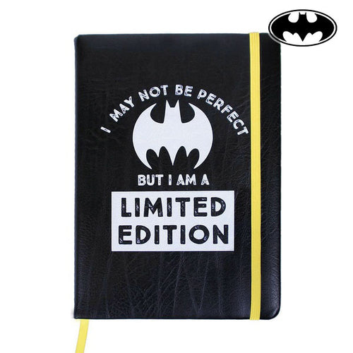 Notebook with Bookmark Batman A5 Black
