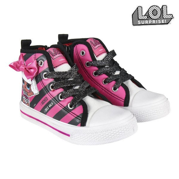 Children's Casual Trainers LOL Surprise! 74022 Black Pink