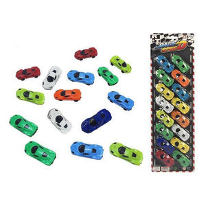 Vehicle Playset Race Speed Selection (16 Pcs)
