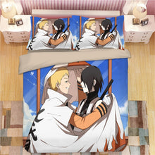 Load image into Gallery viewer, Anime 3D Naruto Print Bedding Set Duvet Covers Pillowcases One Piece Comforter Bedding Sets Bedclothes Bed Linen 06 1 - boo.bootik