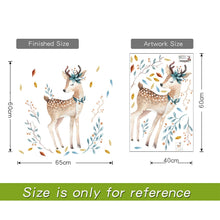 Load image into Gallery viewer, Bedroom wall decor Deer wall stickers for kids rooms - boo.bootik