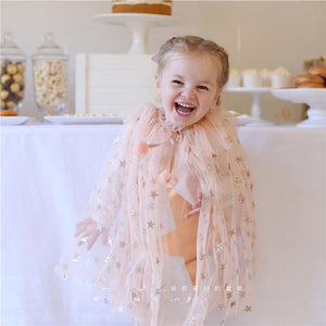 Girls Summer Fancy Shawls Free Size Children Beautiful Clothes Girl Fairy Shawls Dressup Costume - boo.bootik