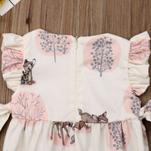 Load image into Gallery viewer, Fashion 2019 Baby Girl summer clothing cute Deer Flower cotton soft Romper Jumpsuit for newborn infant clothes children kid - boo.bootik