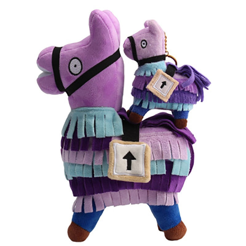 Llama Plush Toy Game Alpaca Rainbow Horse Toys Cute Stuffed Fortress Night Dolls Kids Gift Christmas Gifts - boo.bootik