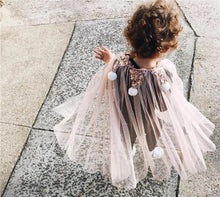 Load image into Gallery viewer, Girls Summer Fancy Shawls Free Size Children Beautiful Clothes Girl Fairy Shawls Dressup Costume - boo.bootik