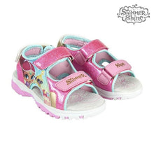 Load image into Gallery viewer, Children's sandals Shimmer and Shine 73647 Fuchsia