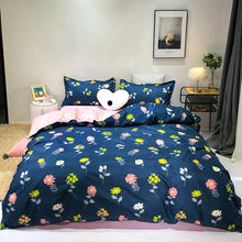 Load image into Gallery viewer, Solstice Home Textile Cartoon Polar bear Bedding Sets Children's Beddingset Bed Linen Duvet Cover Bed Sheet Pillowcase/bed Sets - boo.bootik