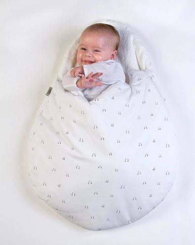 Boobootik Cute Soft Cotton Egg Style Sleeping Bag Stroller Blanket for Newborns - boo.bootik
