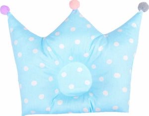 Baby crown shaped pillow prevents flat head for infants bedding nursery & kids room - boo.bootik