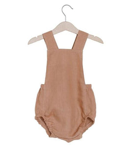 Baby toddler summer suspender romper shorts with backcross jumpsuit - boo.bootik