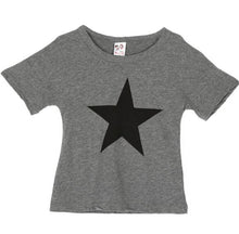 Load image into Gallery viewer, Star t-shirt print casual summer clothing for kids - boo.bootik