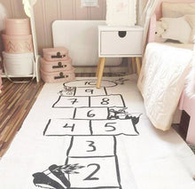 Load image into Gallery viewer, Baby hopscotch crawling play mat play room carpet for kids rooms - boo.bootik