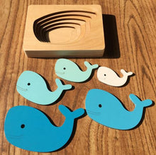 Load image into Gallery viewer, Boobootik wooden animal 3D puzzle children's educational early years toys - boo.bootik