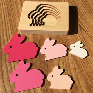 Boobootik wooden animal 3D puzzle children's educational early years toys - boo.bootik