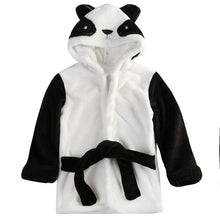 Load image into Gallery viewer, Boy Girl Baby Toddler Kids Gifts - Hooded Animal Bath Robe - boo.bootik