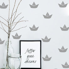 Load image into Gallery viewer, Boat Wall Decals Wall Stickers for Kids Rooms - boo.bootik