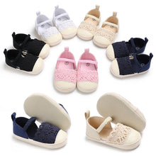 Load image into Gallery viewer, Girl Baby Toddler Winter Anti Slip Crib Soft Sole Shoes - boo.bootik