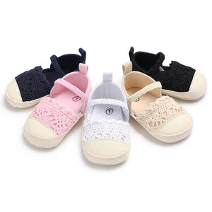 Girl Baby Toddler Winter Anti Slip Crib Soft Sole Shoes - boo.bootik
