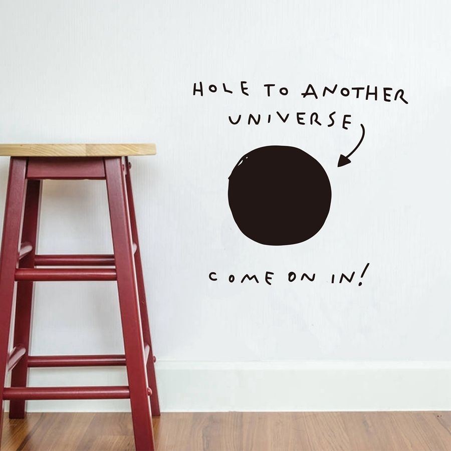 Load Image Into Gallery Viewer, Hole To Another Universe Wall Decals Wall  Stickers For Kids ...