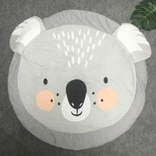 Load image into Gallery viewer, Baby Animals Playmat | Blanket Nursery Kids Room Decor - boo.bootik