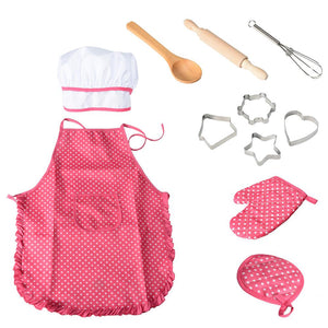 Chef Outfit Costume Pretend Play for Boys or Girls - boo.bootik