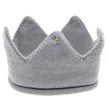 Load image into Gallery viewer, Baby Newborn Toddler Boy | Girl Crown Knit Hat - boo.bootik