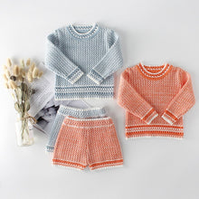 Load image into Gallery viewer, Baby  Boy | Girl Knitted Top & Bottom Set - boo.bootik