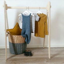 Load image into Gallery viewer, Wooden Clothing / Coat Rack for Kids Rooms - boo.bootik
