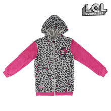 Load image into Gallery viewer, Hooded Sweatshirt for Girls LOL Surprise! 74834 Grey Pink