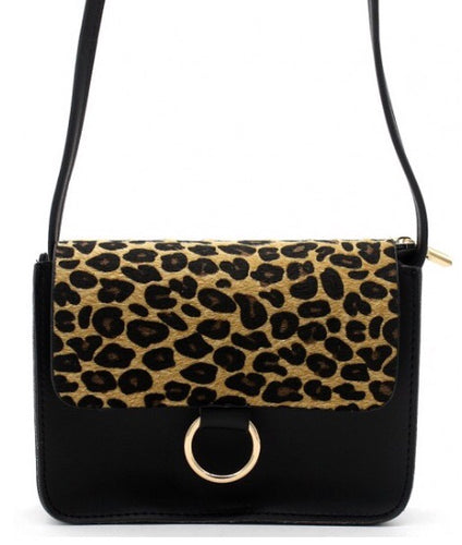 Cross Body Leopard Bag