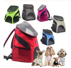 Mesh Dog Carry Backpack - lovethepup