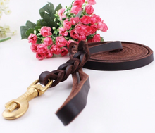 High Quality Genuine Leather Dog Leash - lovethepup