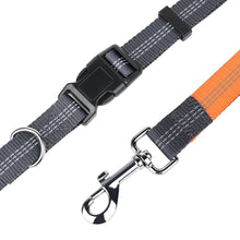 Quality Reflective Dog Leash with Hands Free Running Adjustable Waist Attachment - lovethepup