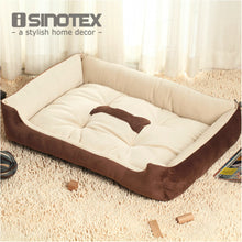 Plus Size Large Dog Bed Mat Kennel Soft Pet Dog Puppy Warm Bed House Plush Cozy Nest Dog House Pad Warm Pet House - lovethepup