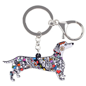Dachshund Key Chain - lovethepup