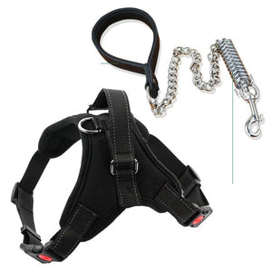 New Arrival Comfortable Pet Dog Matched Leashes and Adjustable O Styles Dog Pet Vest Harness - lovethepup