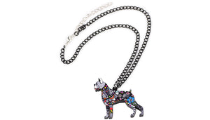 Boxer Necklace - lovethepup