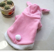 Warm Thickened Cat Costumes Rabbit Bunny costumes suit clothes windproof Pet Product Cute Bunny suit  For Cat Winter Shipping - lovethepup