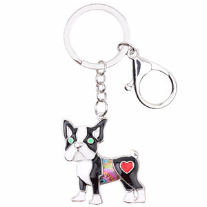 Pug Dog Key Chain - lovethepup
