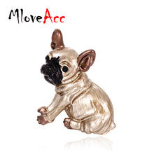 MloveAcc Cute Pug Dog Brooches Bulldog Animal Corsage Pins Kids Girls Shirt Coat Clips Brooches Clothes Accessories Jewelry - lovethepup