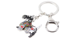 Aberdeen Scottish Terrier Dog Key Chain - lovethepup