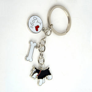 Doberman And other Breeds of Dogs Quality key chain - lovethepup