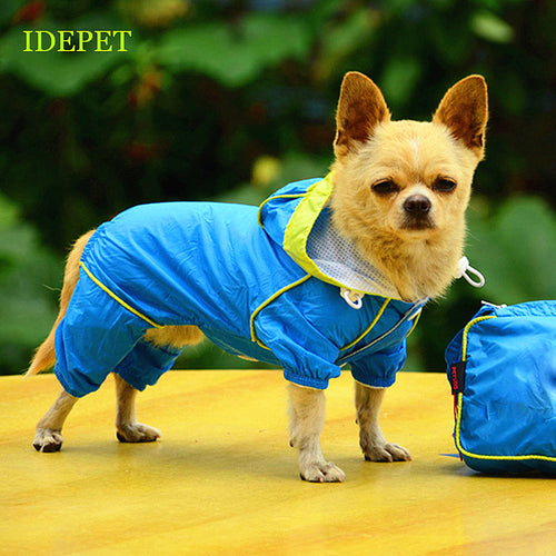 Small Dog Raincoat - lovethepup