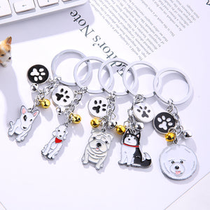Cute Dog Keychain Choose your Breed - lovethepup
