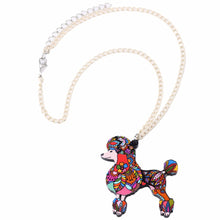 Poodle Dog Necklace - lovethepup