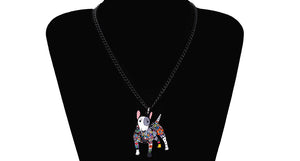 Bull Terrier Dog Necklace - lovethepup