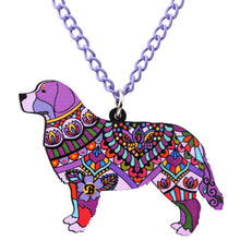 Bernese Mountain Dog Necklace - lovethepup