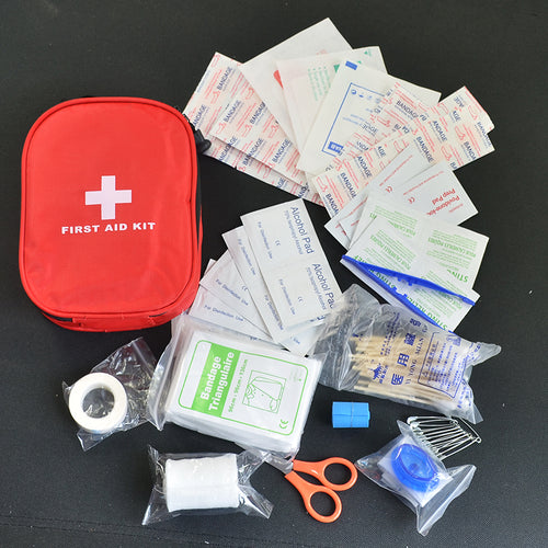Medical Emergency Kit for Safe Camping, Hiking and/or Car First Aid Kit 120 pieces SEE DETAILS! - lovethepup